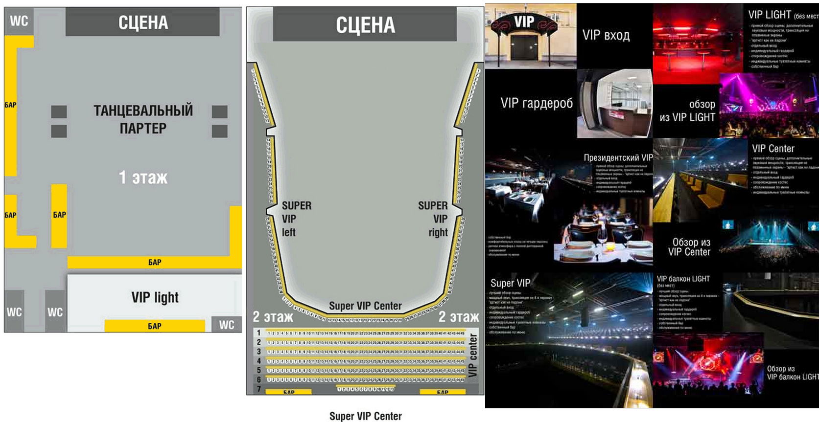 Схема Stadium Live (Adrenaline stadium)